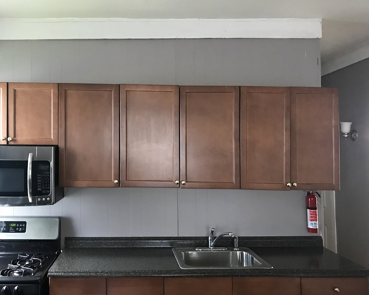 crooked kitchen cabinets